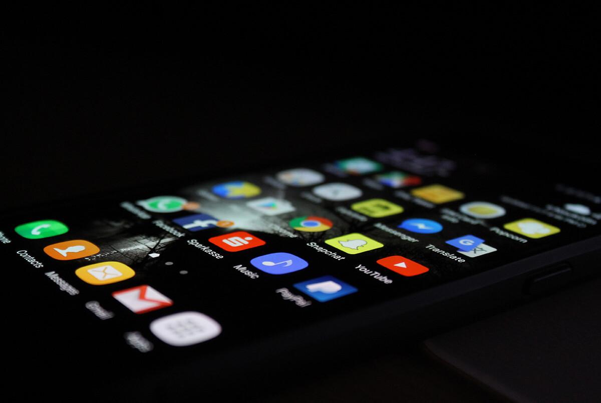 mobile screen